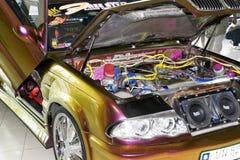 Xtreme Auto-Motor Lizenzfreie Stockfotos