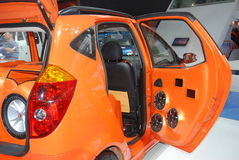 Xtreme car music system. Xtreme motorcar's music system on exhibition at the 7th China (Guangzhou) International Automobile exhibition. 2009. Nov. 30 Stock Image