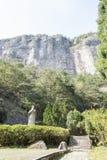 Xu xiake statue Royalty Free Stock Images