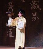 "Xu Xian koopt groente-tweede handeling-Kunqu Opera""Madame Witte Snake† stock afbeelding"
