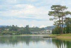 Xuan Huong lake in Dalat Stock Photos