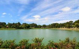 Xuan Huong lake in Dalat, Lam Dong, Vietnam Royalty Free Stock Images