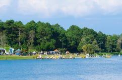 Xuan Huong Lake, Dalat, Vietnam Stock Image