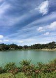 Xuan Huong lake at sunny day in Dalat, Vietnam Royalty Free Stock Photo