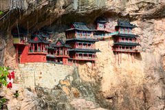 The Xuankong Temple Royalty Free Stock Images