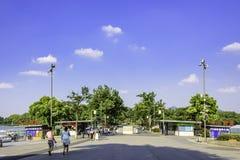 Xuanwu Lake park entrance royalty free stock image
