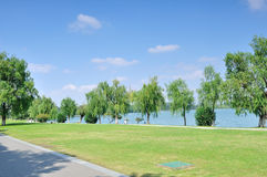 Xuanwu Lake Park Royalty Free Stock Photos