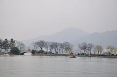 Xuanwu Lake Park spring Stock Photos