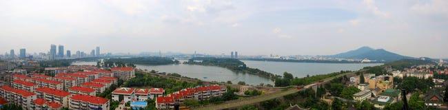 Xuanwu Lake and Purple Mountain, Nanjing, China Stock Images