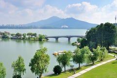 Xuanwu Lake Royalty Free Stock Images