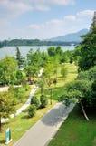 Xuanwu Lake Stock Image