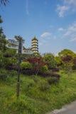 Xuanwu sjö Lama Temple, Nora Tower Royaltyfri Fotografi