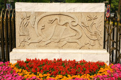 Xuanwu stone marble carving Stock Image