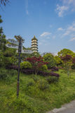 Xuanwumeer Lama Temple, Nora Tower Royalty-vrije Stock Fotografie