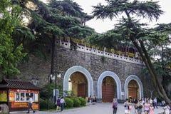 Xuanwumen Gate stock image