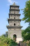 Xuanzang Pagoda in Xuanzang Temple, Nanjing Royalty Free Stock Photo