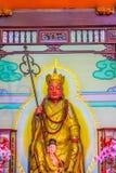 Xuanzang statue at Xuanzang Temple  nearby Sun Moon Lake in Nant Royalty Free Stock Photo