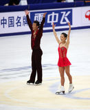 Xue Shen e Hongbo Zhao (CHN) Fotografia Stock Libera da Diritti