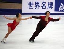 Xue Shen en Hongbo Zhao (CHN) stock foto's