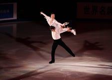 Xue Shen et Hongbo Zhao (CHN) Photo libre de droits