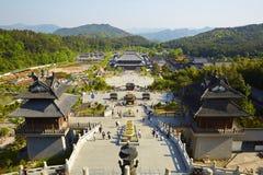 Xuedou temple, Ningbo, China royalty free stock photos