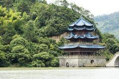 Xuefeng & παλατιών και αψίδων Yanshui γέφυρα στοκ φωτογραφία με δικαίωμα ελεύθερης χρήσης