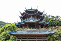 Xuefeng & Yanshui Palace royalty free stock photo