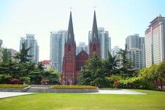 Xujiahui大教堂 库存图片