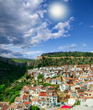Xulilla village, Spain Royalty Free Stock Image