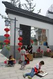 Xun Yulong River in Hunan, China künstlerische Stadt Stockbild
