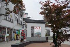 Xun Yulong River in Hunan, China künstlerische Stadt Lizenzfreie Stockfotos