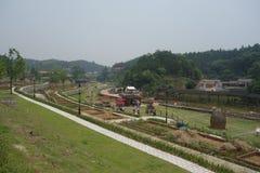 Xun Yulong River in Hunan, città artistica della Cina Fotografia Stock Libera da Diritti