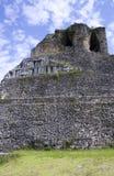 Xunantunich废墟在伯利兹 库存照片