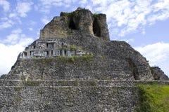 Xunantunich废墟在伯利兹 免版税图库摄影