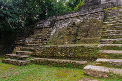 Xunantunich. An Ancient Mayan archaeological site in western Belize. Maya temple El Castillo Royalty Free Stock Images