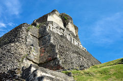 Xunantunich archaeological site of Mayan civilization in Western Stock Image