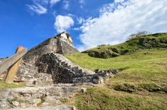 Xunantunich archaeological site of Mayan civilization in Western Stock Images