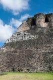 Xunantunich Belize Majska świątynia Obraz Royalty Free