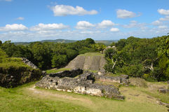 Xunantunich Belize Mayan Temple Stock Photography