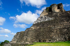 Xunantunich Belize Mayan Temple Royalty Free Stock Photography