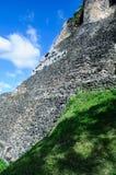 Xunantunich Belize Mayan Temple Stock Photo