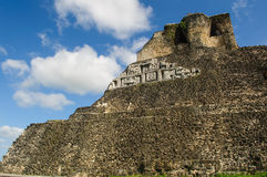 Xunantunich Belize Mayan Temple Royalty Free Stock Images