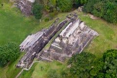 Xunantunich, majowie ruiny Zdjęcia Royalty Free
