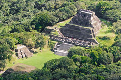 Xunantunich Maya fördärvar Arkivfoton