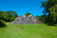 Xunantunich Mayan Ruin Royalty Free Stock Photography