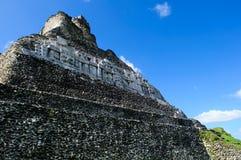 Xunantunich Mayan Ruin in Belize Stock Image
