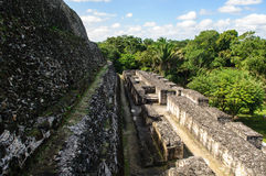 Xunantunich Mayan Ruin in Belize Royalty Free Stock Images