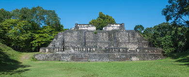 Xunantunich Mayan Ruin Royalty Free Stock Photo