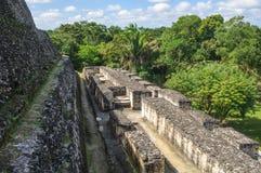 Xunantunich Mayan Ruin. In Belize Stock Photo