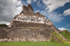 Xunantunich Temple Pyramid Bellize Royalty Free Stock Photos